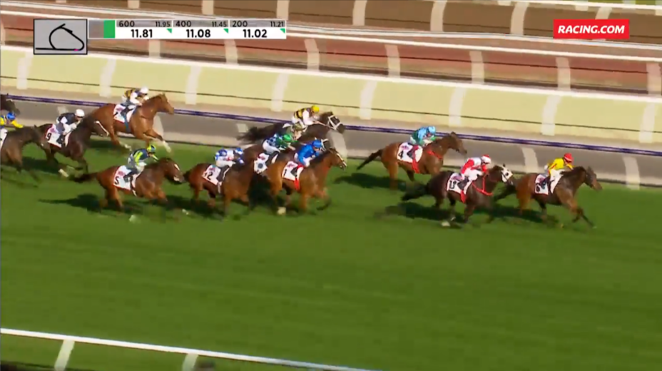 Mr Quickie's returns with luckless Group 1 third in the Makybe Diva